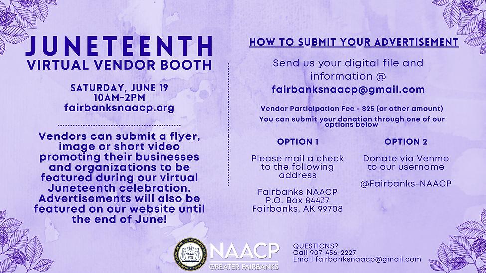 Juneteenth Virtual Vendor Booth flyer.pn