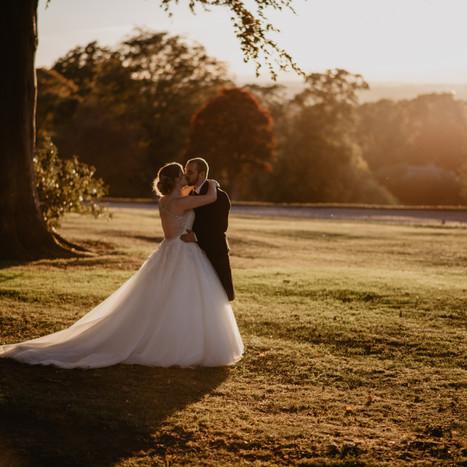 Gorgeous, Golden Autumn Wedding at Murrayshall | Charlotte & Liam