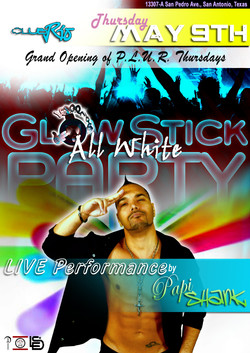 PS glow stick concert in SA