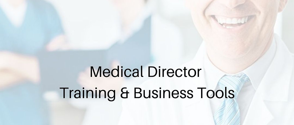 Medical Director Training & Certification