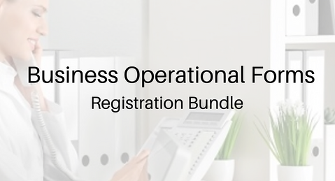 Medspa Forms-Registration Bundle