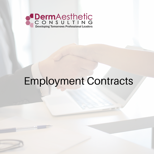 A.R.N.P Employment Contract ( Dermatology & Cosmetic Services)