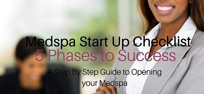 MedSpa Start Up Checklist |5 Phases to Success
