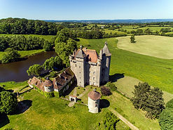 Aerial view of Chateau Villemonteix WIDE RIGHT - 19th May 2020 - Chris Brookes Photographi