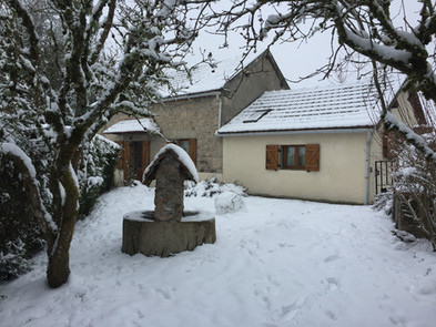 Gite La Borderie in winter