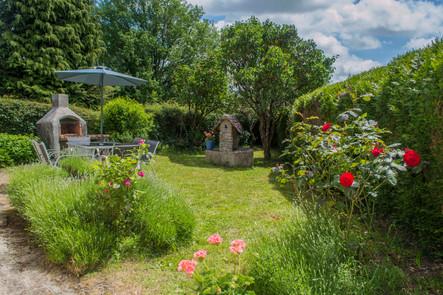 Gite La Borderie Garden
