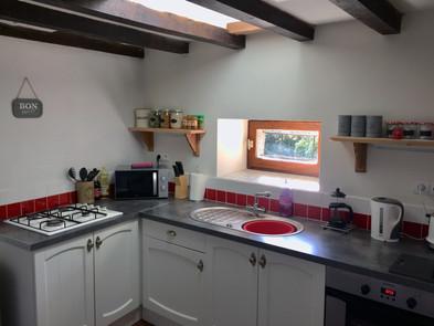 Gite La Borderie Kitchen