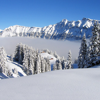 Mürren winter wonderland