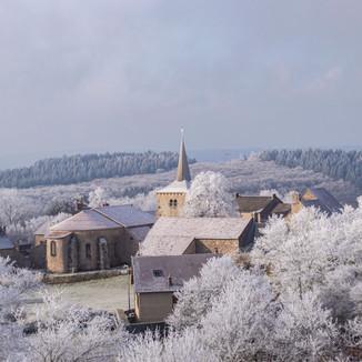 Toulx Sainte Croix Village, France