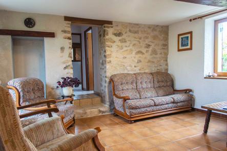 Gite La Borderie Lounge