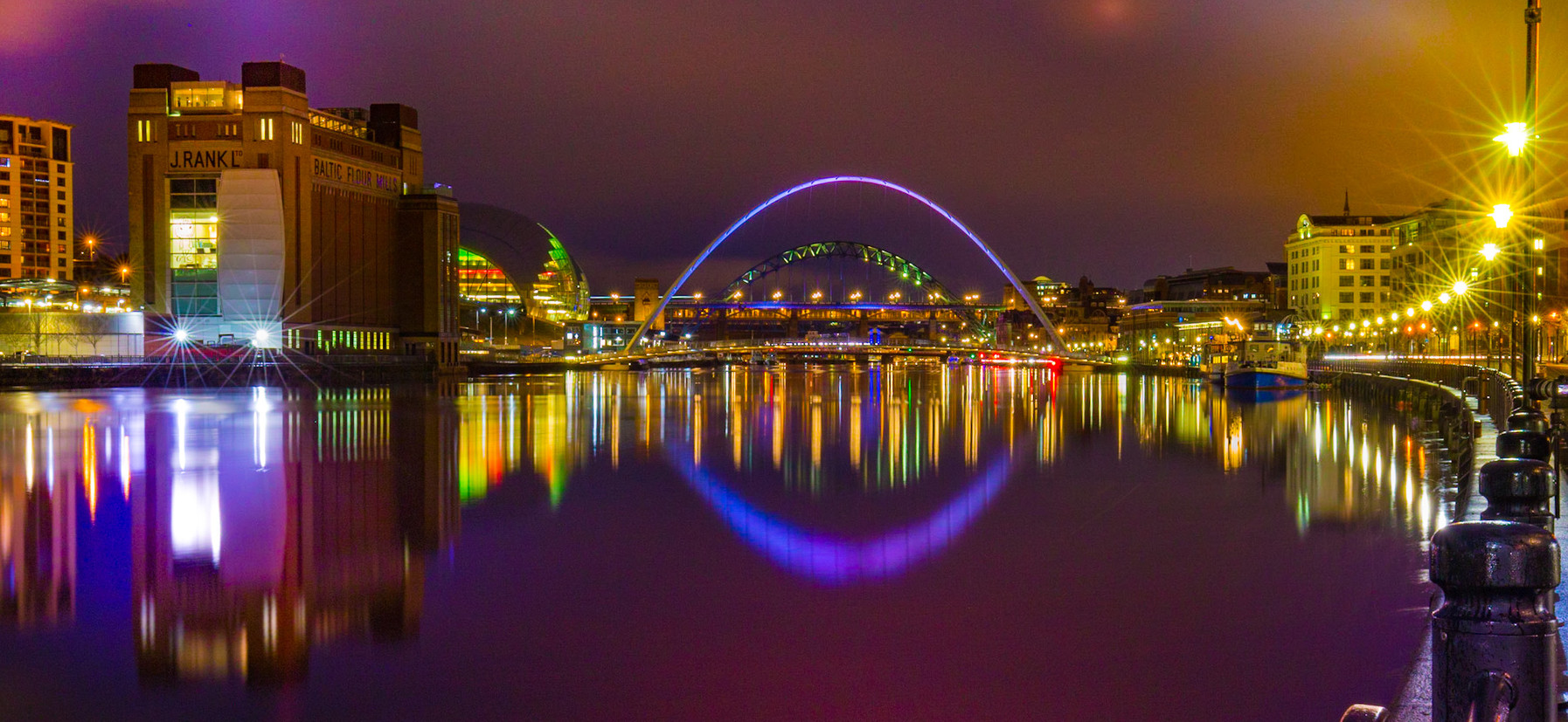 """Highly Commended - """"Quayside Colours"""" by Martin Humble"""
