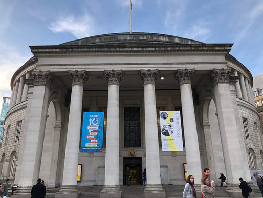 The Poetry Exchange at Manchester Central Library