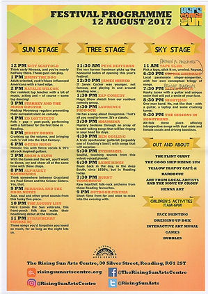 Here Comes The Sun Festival 2017 Reading