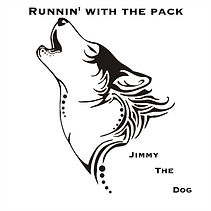 Jimmy The Dog Runnin' With The Pack album cover