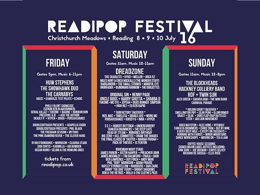 Readipop 2016 poster