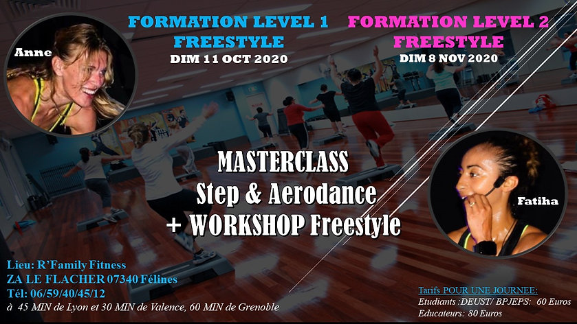 AFFICHE MASTERCLASS WORKSHOP OCTOBRE-NOV
