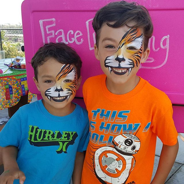 #kryskreations #sandiegofacepainter #kry