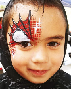 Face painting fun with Krys Kreations' a