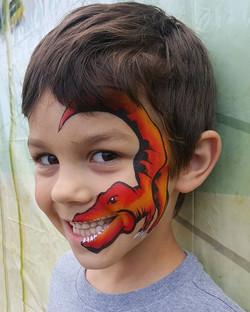 Face Painting Luau fun with Krys Kreatio