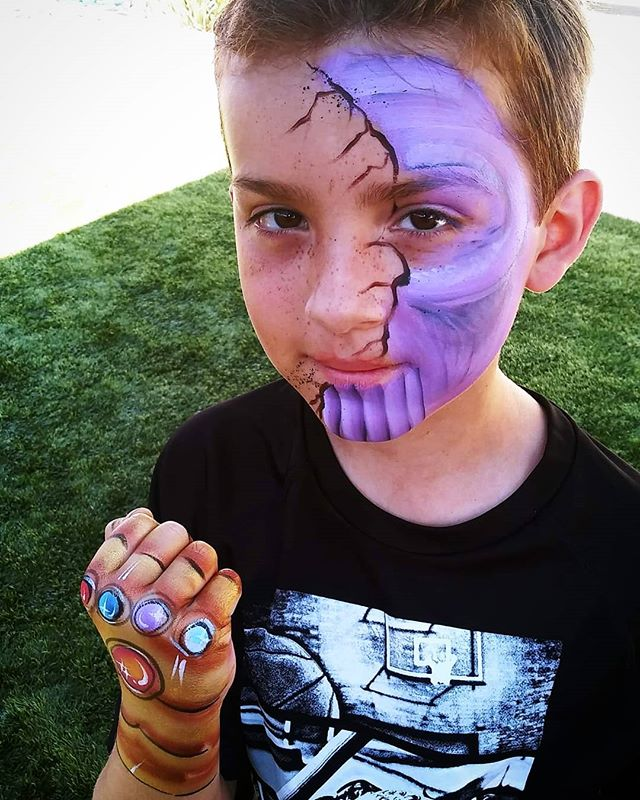 Thanos!! By Krys Kreations' artist Jessi