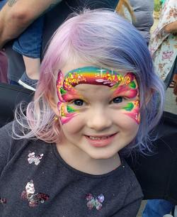 Rainbow Butterfly! Ok!! #kryskreations #