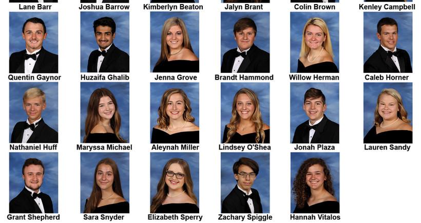 2020 Scholarship Recipients