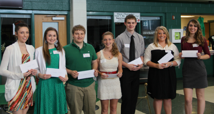 2013 Scholarship Recipients