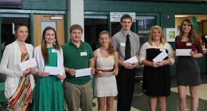 2013 Scholarship Recipients