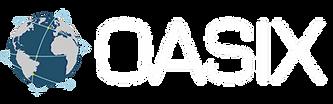 OASIX white logo