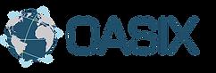 OASIX logo blue