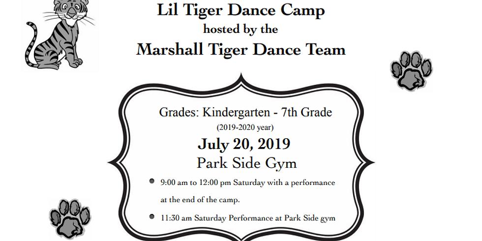 2019 Lil Tiger Dance Camp