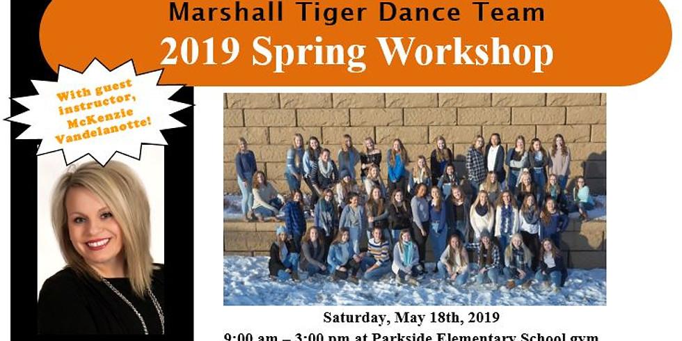 MTDT 2019 Spring Workshop & Parent/Dancer Information Meeting