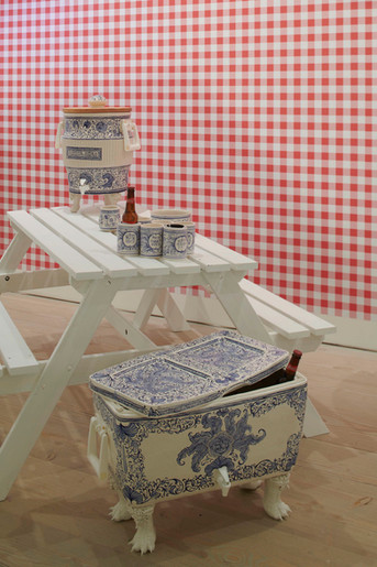 Mary-O'MALLEY-CollectOpen19-picnic table
