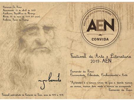 Leonardo da Vinci: Curiosidade, Liberdade, Conhecimento e Arte.