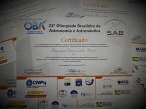 OBA - Olimpíada Brasileira de Astronomia e Astronáutica