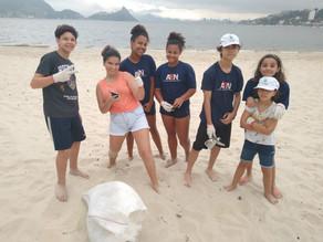 Dia Mundial de Limpeza das praias - AEN presente!