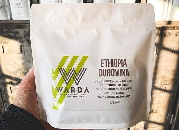 Ethiopia Duromina szemes kávé (250g)
