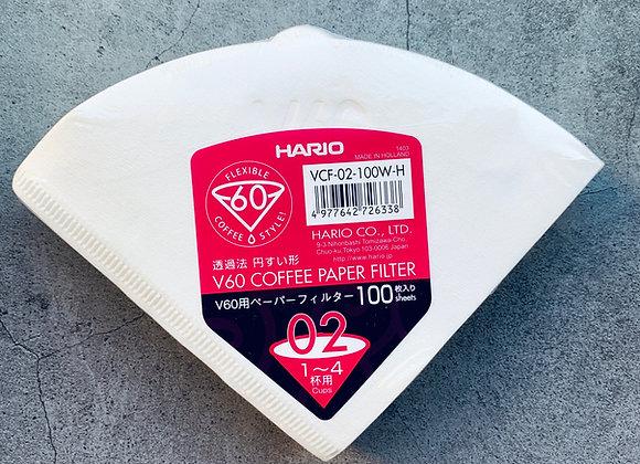 HARIO filter papír V60-02