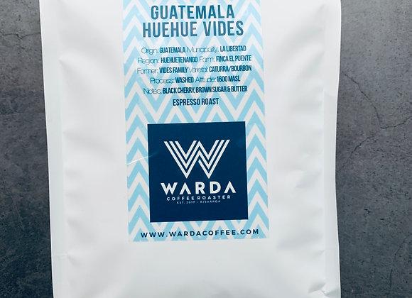 Guatemala Huehue Vides szemes kávé (1000g)