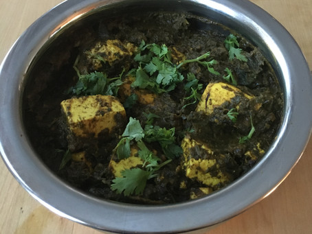 Mom's Saag Paneer coming full circle