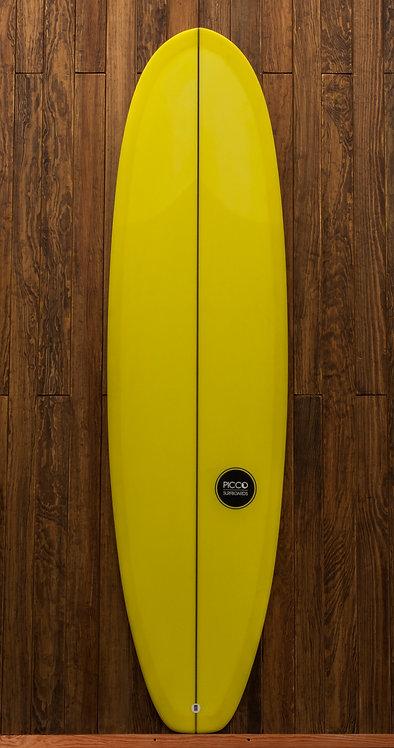 7´0´´ Yellow Malibu