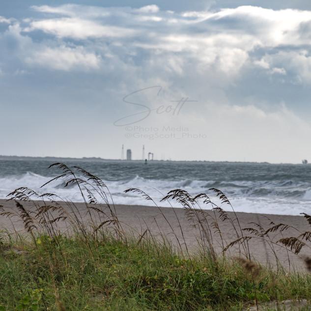 Hurricane Isaias - just offshore CC beac