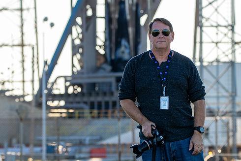 Greg - beside SpaceX Starlink 2 1-6-20.j
