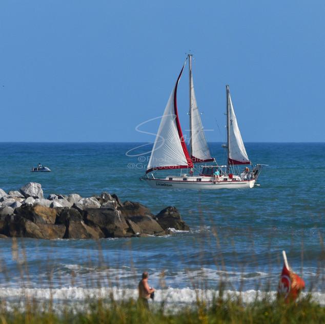 Sailboat - off Jetty Park 12-10-19 edit