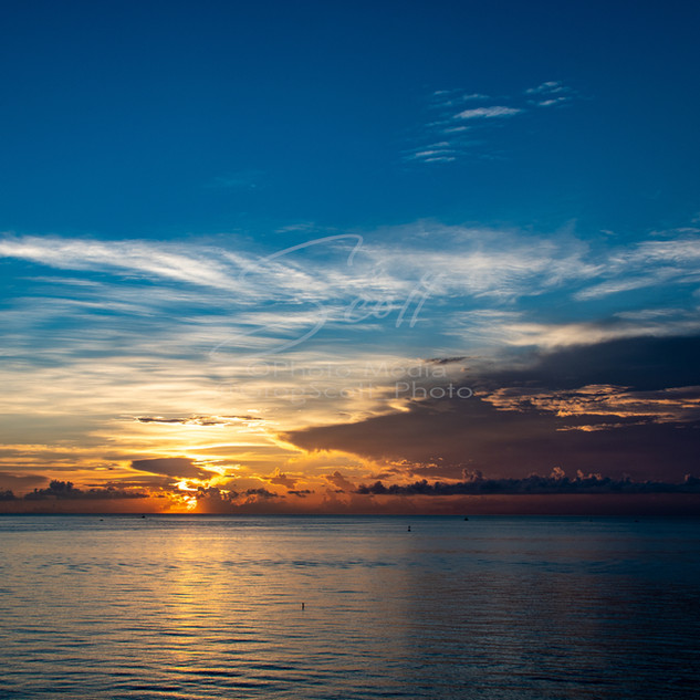 Sunrise - over ocean GSS_2607 wtr small.