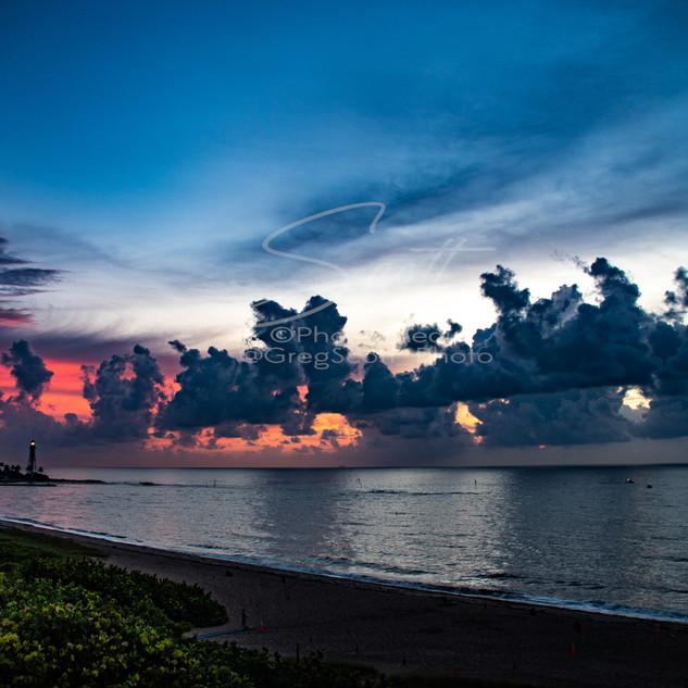 Sunrise - over ocean PB GSS_2828 wtr sma