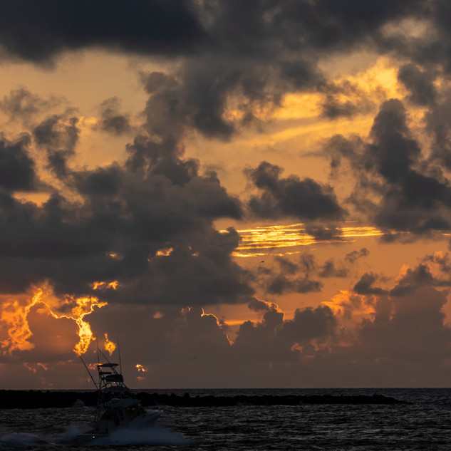 Sunrise - Jetty Park fisherman GSS_2120