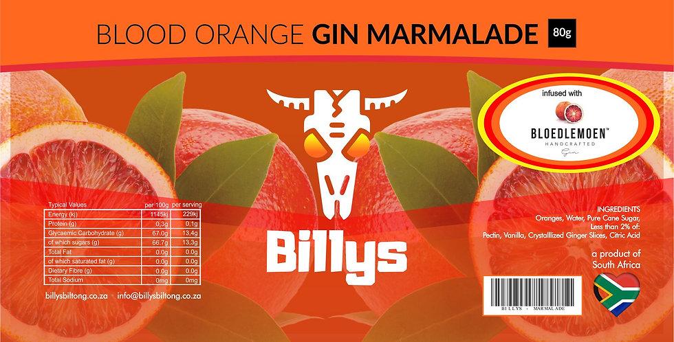 Blood Orange Gin Marmalade - 80g
