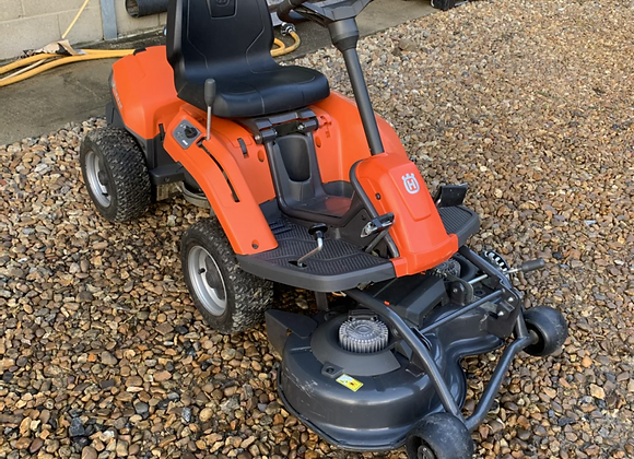 Husqvarna rider battery ride on lawnmower