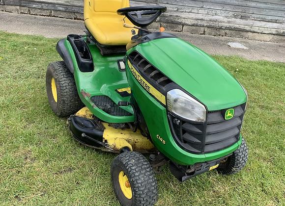 John Deere X145  ride on lawnmower